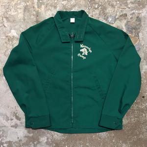 80's Cotton Jacket GREEN