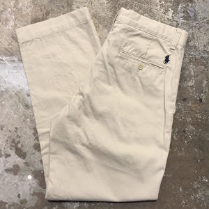 Polo Ralph Lauren Chino Pants L.BEIGE  W : 30