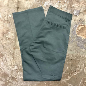 80's~ Unknown Work Pants GREEN (Dead Stock)
