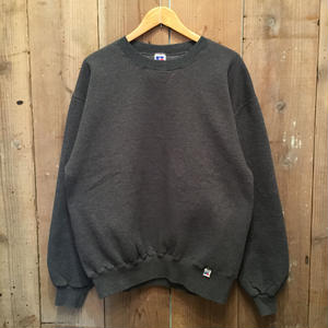 90's RUSSELL ATHLETIC Plain Sweatshirt H.CHARCOAL
