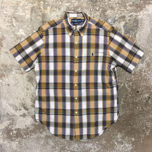 Polo Ralph Lauren Madras Check Shirt YELLOW