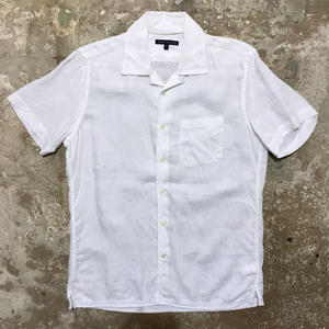 BANANA REPUBLIC Linen Open Collar Shirt