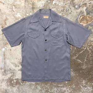 50's McGREGOR Rayon Open Collar Shirt