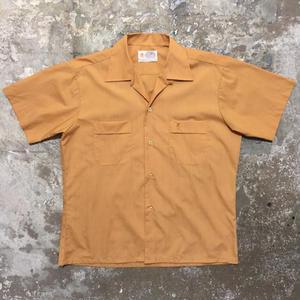 70's GOLDEN LUCERNE S/S Open Collar Shirt