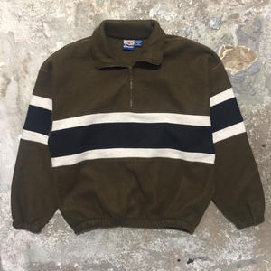 90's S.Wm. Pullover Fleece Jacket
