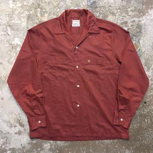 60's Selkirk L/S Open Collar Shirt
