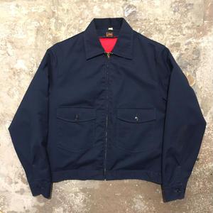 70's Lee Padded Work Jacket NAVY