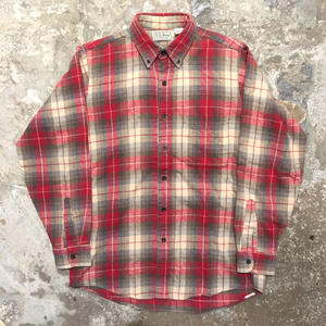 90's L.L.Bean Light Flannel Shirt