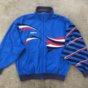 80's adidas Velor Track Jacket MADE IN FRANCE