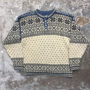 90's L.L.Bean Nordic Sweater