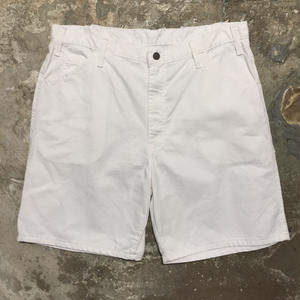 Dickies Painter Shorts WHITE W : 36