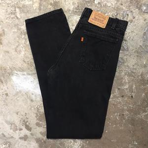 90's Levi's 505 Black Denim Pants  W : 34