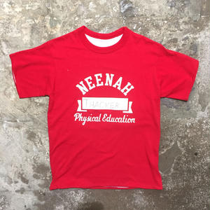 80's~ Unknown Reversible Tee RED