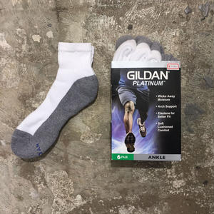 GILDAN Ankle Socks 6Pair