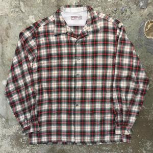 ~60's McGREGOR Wool Open Collar Shirt