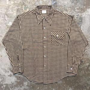 70's BIG MAC L/S Shirt BROWN