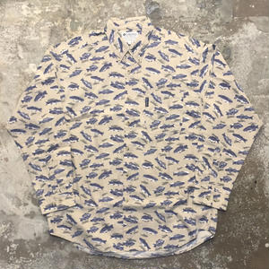 Columbia Fish Patterned B.D Shirt