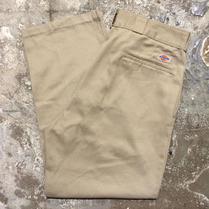 90's Dickies Work Pants KHAKI  W : 36  #3