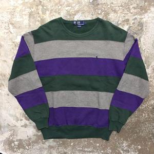 90's  Polo Ralph Lauren Striped Sweatshirt