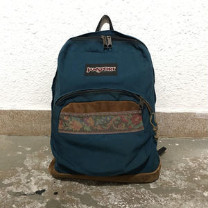 90's JANSPORT Back Pack  NAVY