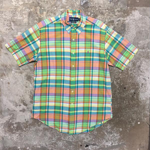 Polo Ralph Lauren Madras Check Shirt L.GREEN