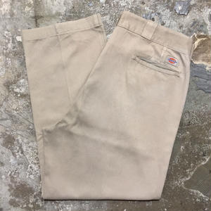 90's Dickies Work Pants KHAKI  W : 36 #1