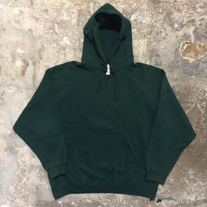 90's  NIKE Hooded Sweatshirt GREEN
