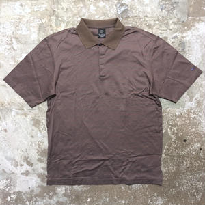 NIKE GOLF Poloshirt  BROWN