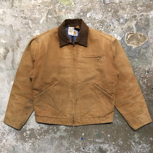 80's Carhartt Detroit Jacket BROWN