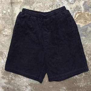90's~ Corduroy Easy Shorts NAVY