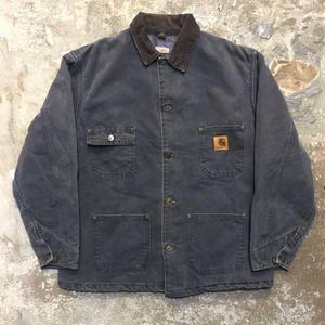 90's Carhartt Michigan Chore Coat  CHARCOAL