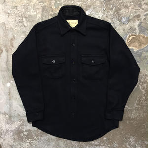 80's Melton CPO Wool Shirt Jacket