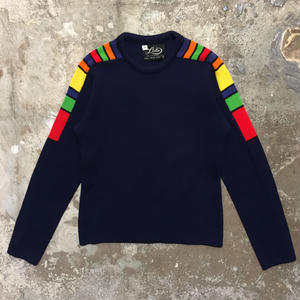 70's Lido Designed Wool Sweater