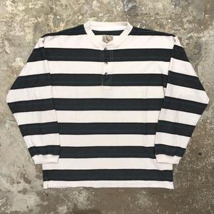 90's FERRUCHE Henry Neck L/S T-Shirt