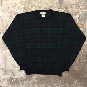 80's L.L.Bean Black Watch Wool Sweater