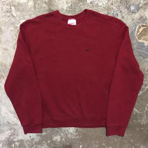 90's  NIKE Sweatshirt RED