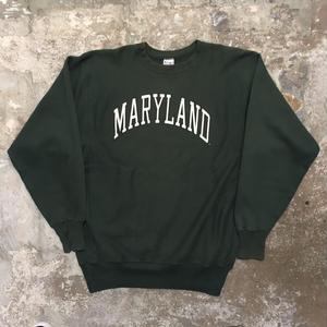 90's Champion REVERSE WEAVE Sweat Shirt MARYLAND (SIZE : XXL)