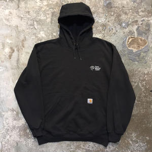 Carhartt Hooded Sweatshirt BLACK (SIZE : M)