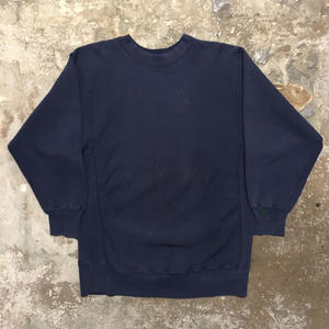 80's Champion REVERSE WEAVE Sweatshirt NAVY (SIZE : XXL)