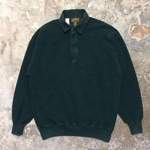 80's Eddie Bauer Cotton Pile Polo Shirt