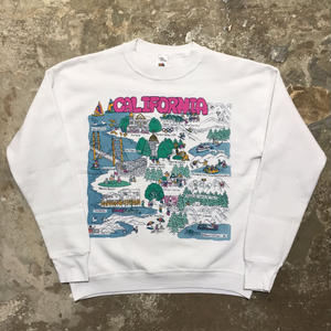 90's FRUIT OF THE LOOM CALIFORNIA Sweatshirt