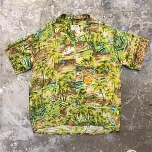 60's South Pacific Aloha Shirt