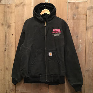 90's Carhartt Thermal Lined Active Jacket BLACK