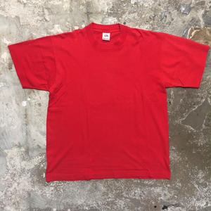80's FRUIT OF THE LOOM Plain Tee