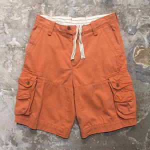 Polo Ralph Lauren Cargo Shorts ORANGE W : 30