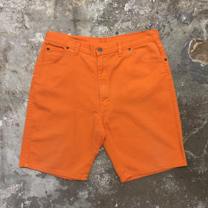 80's~ Unknown 5 Pocket Cotton Shorts W : 36