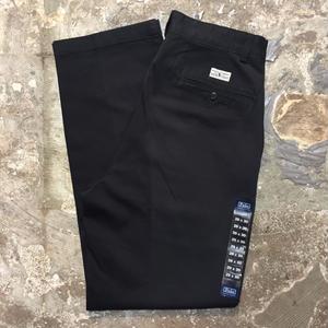 Polo Ralph Lauren Cotton Two Tuck Pants BLACK (Dead Stock)