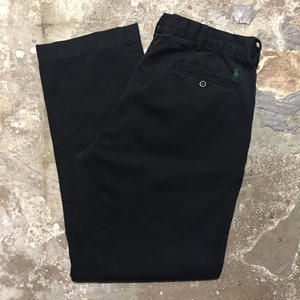 Polo Ralph Lauren Cotton Pants BLACK W : 34
