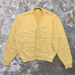 60's~ Unknown Mohair Cardigan