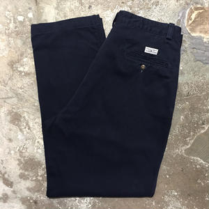 90's Polo Ralph Lauren Chino Pants NAVY W : 32